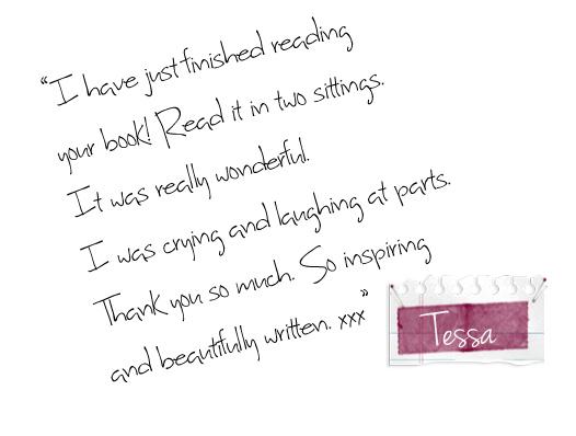 Scrap book-Tessa
