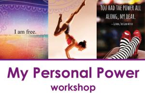 My Personal Power workshop-header